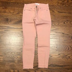 LOFT Modern Skinny Cropped Pants